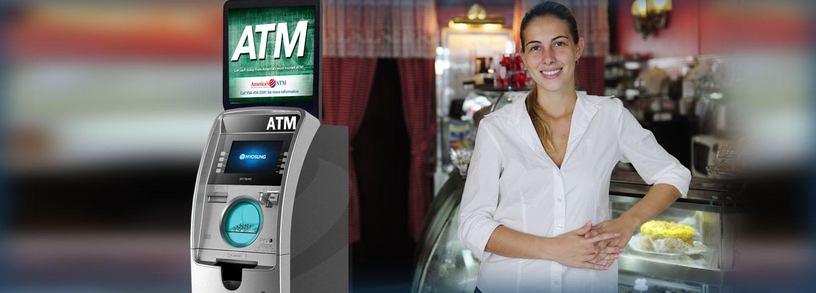 atm machine installation procedure