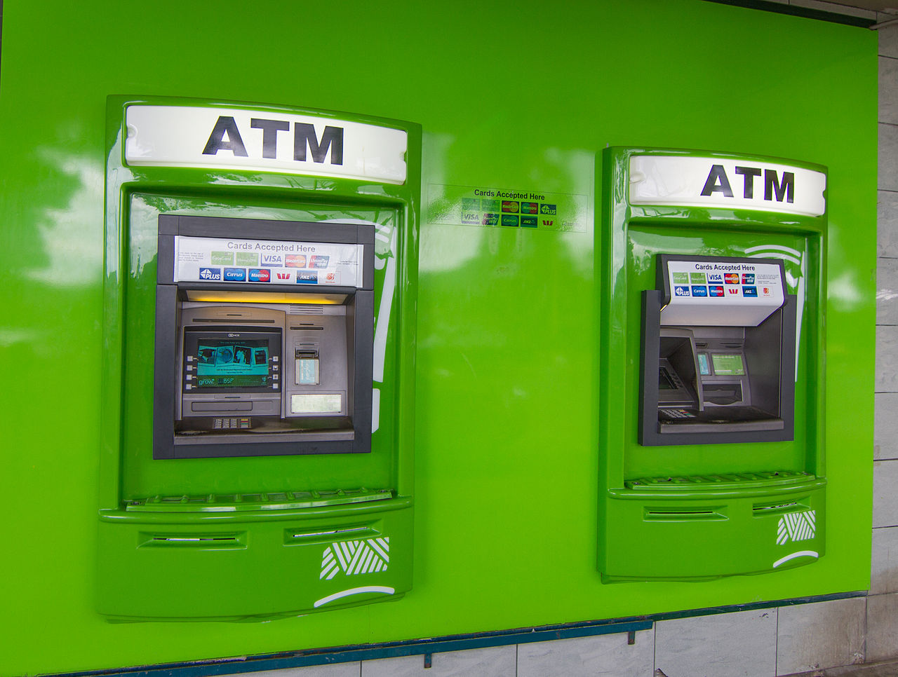 atm and online banking